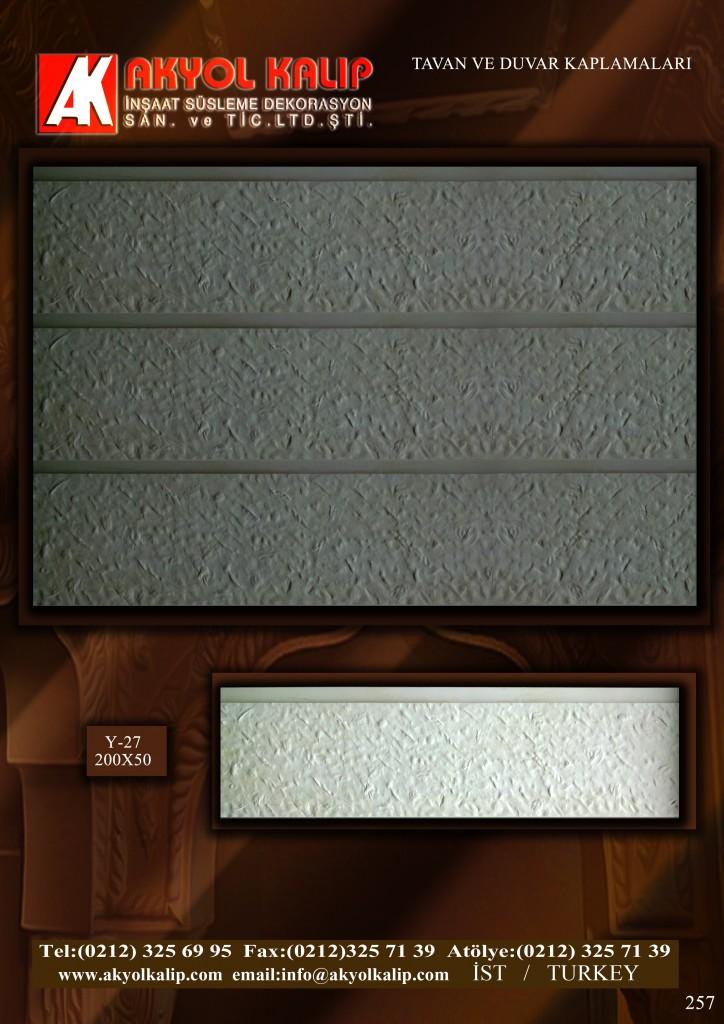 tavan ve duvar kaplama modelli